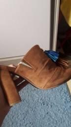 Calçados: Salto usado uma vez