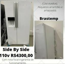 geladeiras novas de fábrica