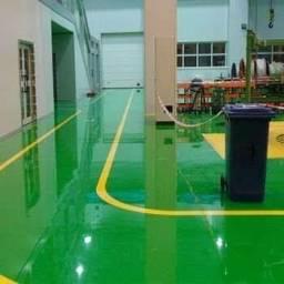 Fazemos serviços de pinturas epóxi   e pisos  industriais