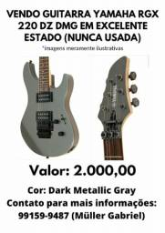 Guitarra Yamaha RGX220DZ DMG + case + Correia