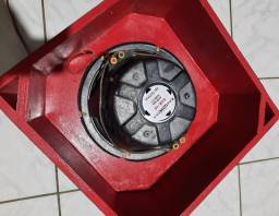 Título do anúncio: caixa de som subwoofer de 10 polegadas bravox bobina dupla 400rms e o módulo taramps