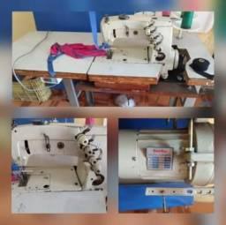 Máquina de costura viés ombro a ombro