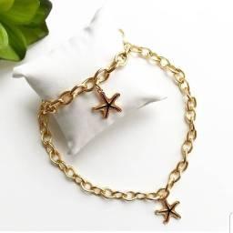 Kit Choker e pulseira Estrela do Mar