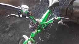 Bicicleta gimex 350 avista 450 2x nocartao