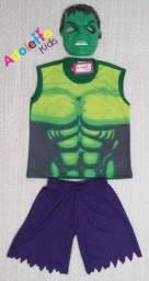 Fantasia Infantil Hulk