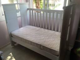 Berço mini cama Divicar e colchão Novo
