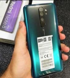 Célular Xiaomi redmi note 8 pro 128 giga Lacrado