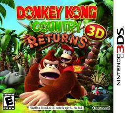 Título do anúncio: Donkey Kong Country Returns - Nintendo 3DS