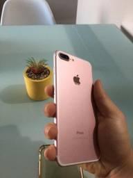 Título do anúncio: iPhone 7 Plus, rose, 32gb