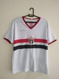 Camisa Luís Fabiano São Paulo Edição comemorativa LF9 Tamanho G Original
