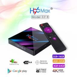 Promoção Tv Box H96 Max Entrega e Instalação Grátis