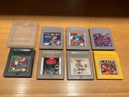 7 Jogos de Gameboy Color (Leia a Descrição)