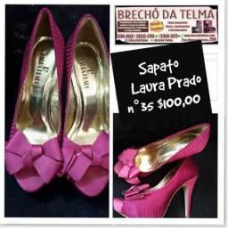 Brechó Telma Guarulhos temos.(Sapato Laura Prado 35 98355-5798 whats  8285db190c063