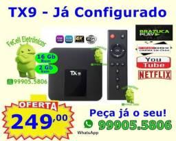 """TX9 Android 7.1 - """"Configurado"""""""