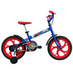 Bicicleta aro 16 Caloi homem aranha