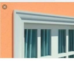 Molduras de portas e janelas em eps