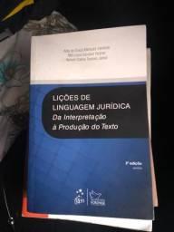 Livro Linguagem jurídica