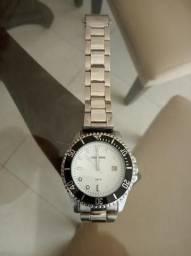 Relógio Diver Mondaine aço perfeito 5atm