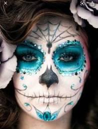 Pintura Facial para Halloween