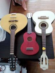 Cavaco, violão, violino,ukulele e outros