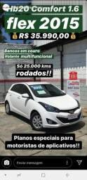 Hb20 1.6 2015 Couro 6mil+799 - 2015