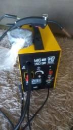 Maquina de solda MIG sem gas V8