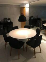 Mesa com 6 cadeiras excelentes! Oportunidade!!!