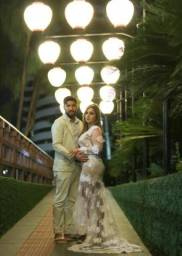 Maravilhoso vestido noiva