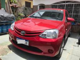 Toyota Etios 1.5 x sedan 16v flex manual 2014 - 2014