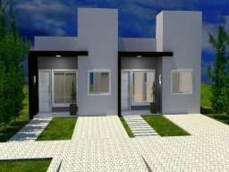 Casas geminadas com 02 dormitórios no Bairro Desbravador em Chapecó SC