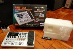 Pedaleira Nux Mg20 Boss Mooer Line 6 Zoom Fire Vox Prs Mxr dunlop xotic Effects