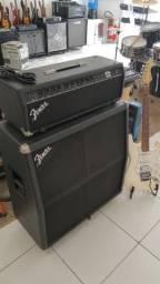 Cabeça e Caixa Fender