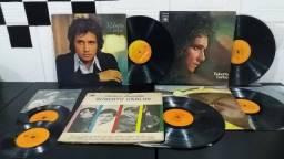 Oferta Kit com 5 LP antigos do roberto Carlos originais (tudo por 100 reais)