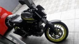 Vendo ou Troco Yamaha Mt 03 abs 2019 zerada - 2019