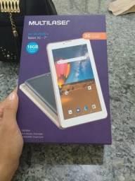 Tablet 16 gigas novo com nota fiscal ele pega chip