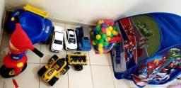 Conjunto de brinquedos