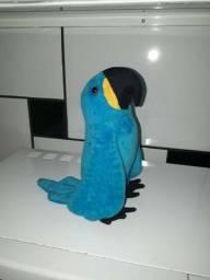 Arara azul de pelúcia anti-alérgica em Samambaia