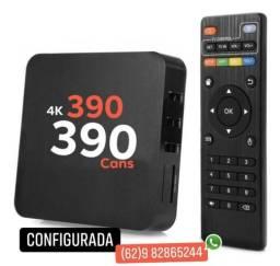 Tv Box 4k pronta para uso ( Pague Apenas Intenet )
