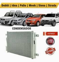 Condensador Fiat Palio Strada Siena Ideia Doblo