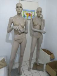 Conjunto de manequins