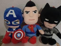 Bonecos de pelúcia hipoalergênico heróis