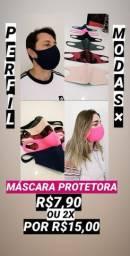 Mascaras diversos modelos e estampas P-E-R-S-O-N-A-L-I-Z-A-D-A-S