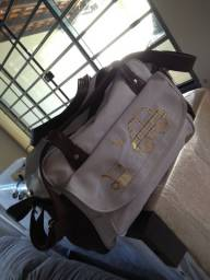 Kit bebê com bolsa tema transporte