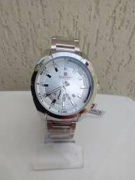 Relógio novo original naviforce