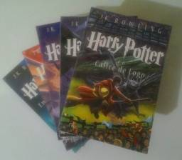 Kit Harry Potter 5 Livros