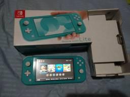 Nintendo Switch lite novo com nota fiscal