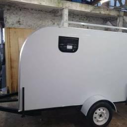 Mini trailer camping