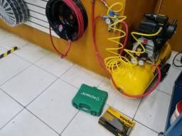 Compressor Vonder + Acessorios Pouquissimo Uso
