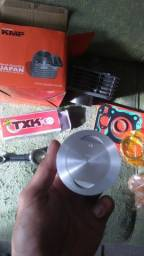 Kit 190p Titan 150 taxado kmp mais biela txk