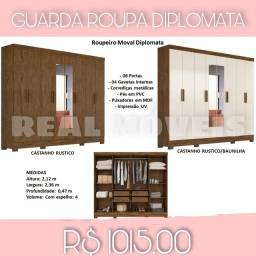 Guarda roupa diplomata guarda roupa diplomata 8 portas guarda roupa diplomata